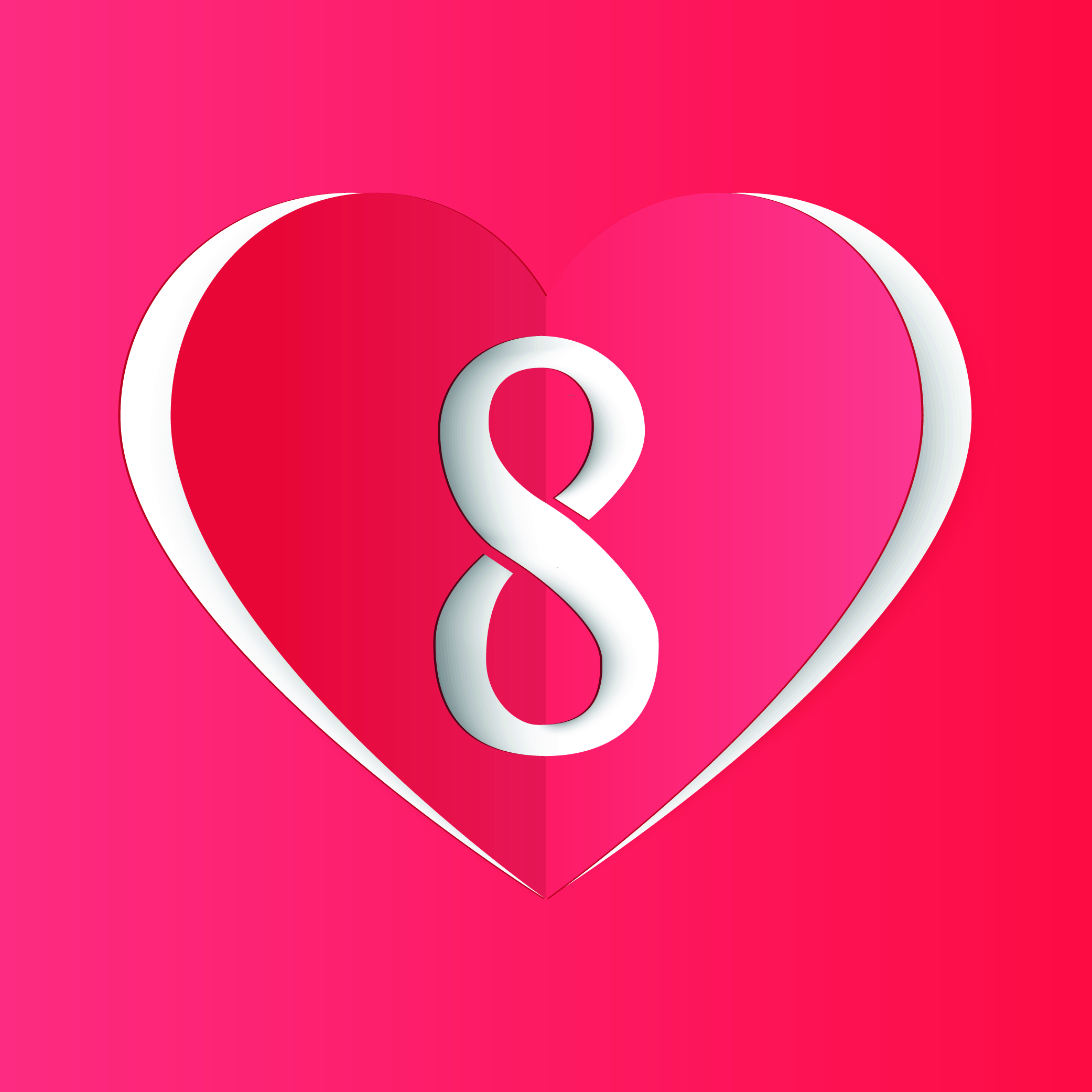 8 reasons within a heart
