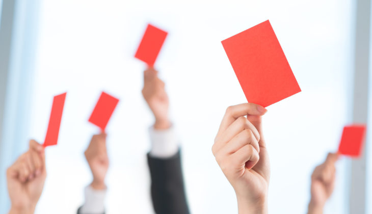 2 Networking NO-NOs Guaranteed To Get You A Red Card