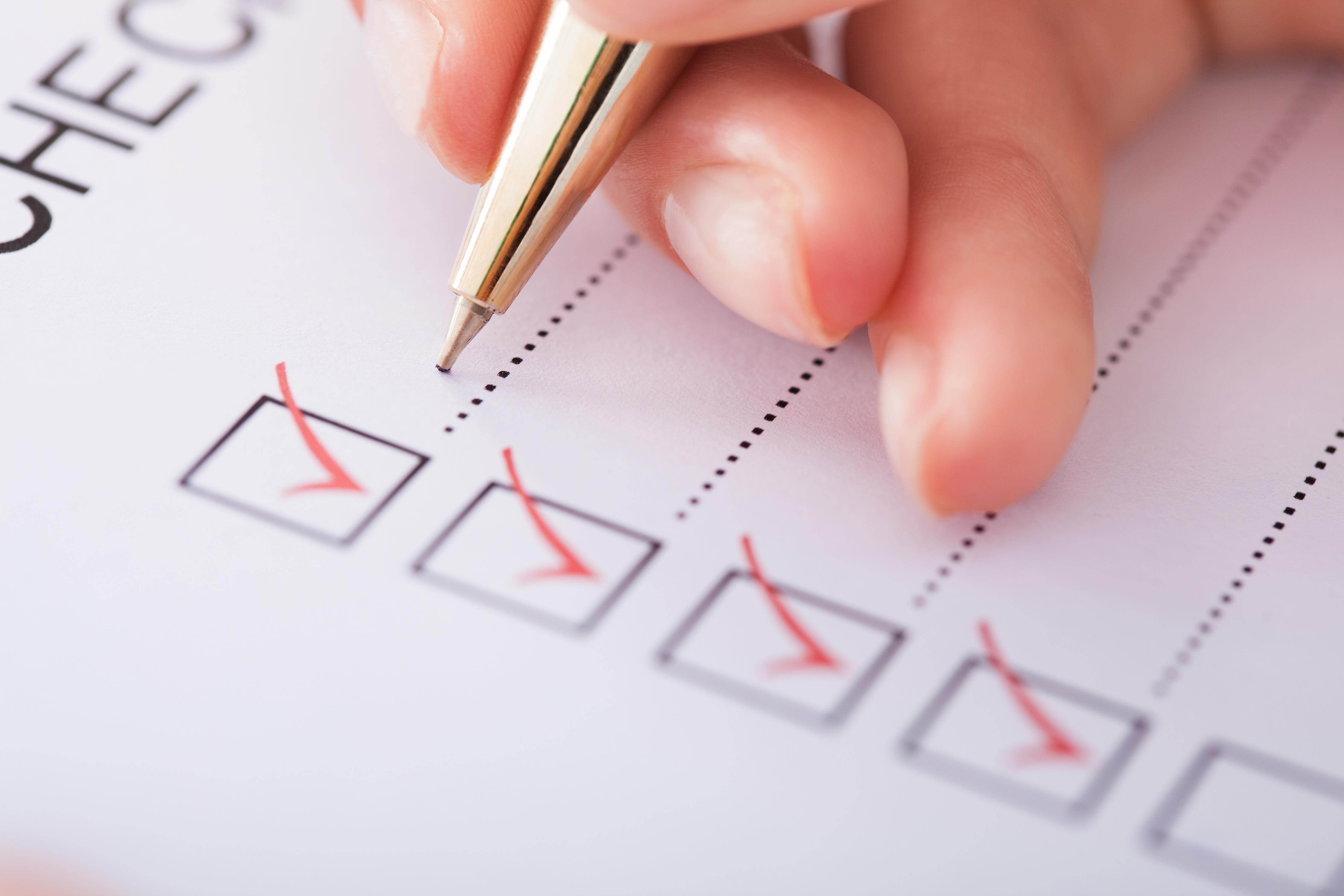 Qualifying Checklist